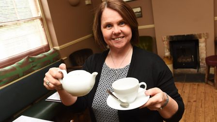 Landlords Hannah and Garry Clark are starting Meet up Mondays at the Bear Inn in Beyton. Picture: GR