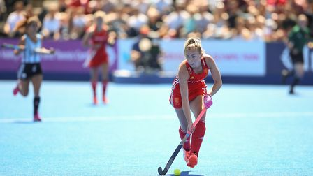 England's Hannah Martin, her and her team disappointed against India. Photo: PA