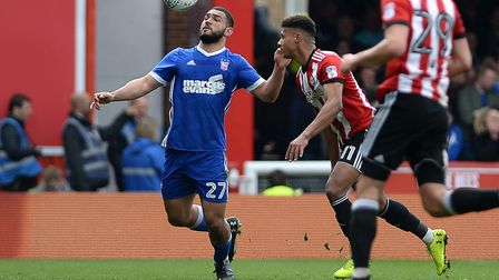 Cameron Carter-Vickers says he has enjoyed his loan spell at Ipswich Town this season. Picture PAGEP