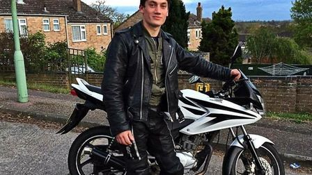 Jake Page, 19, who was tragically killed on his motorbike following a crash in Sudbury. Picture: SUP