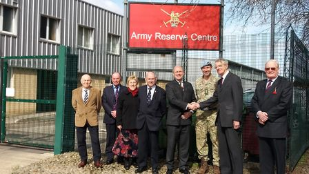 The Suffolk Armed Forces Board welcome Colonel (Retired) John Ogden. Picture: JIM BROWN