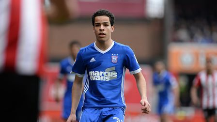 Tristan Nydam believes the future's bright at Portman Road. Picture: PAGEPIX