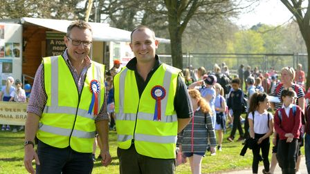 Thousands of children descend on Trinity Park for the annual School Food and Farm Country Fair. Joh
