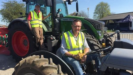 Suffolk Agricultural Association (SAA) School Farm and Country Fair Committee chair John Taylor (for
