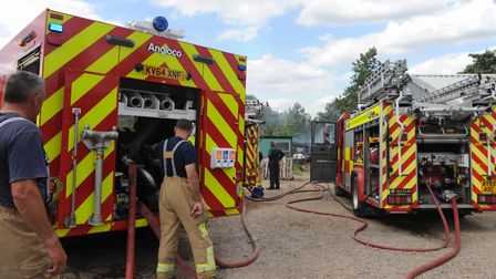 Firefighters have been called to a crash on the A14 (stock photo)