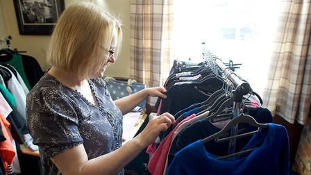 Every other Wednesday The Great Bromley Cross Community Pub hosts Mimi's Pop-Up Boutique. Picture: P