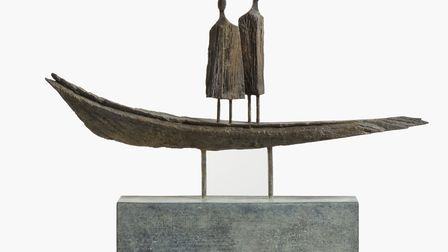 Roger Hardy's Boat People, part of this year's Alde Valley Spring Festival. Photo: Douglas Atfield