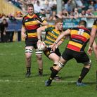 Tristan King was Bury's star man in their cracking clash with champions Cinderford. Picture: SHAWN P