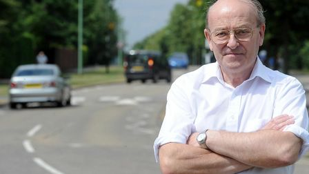 """St Edmundsbury councillor Trevor Beckwith called the proposals """"absolute nonsense"""". Picture: PHIL MO"""