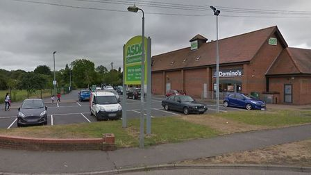 The incident happened in the car park of Asda in Witham. Picture: GOOGLE MAPS