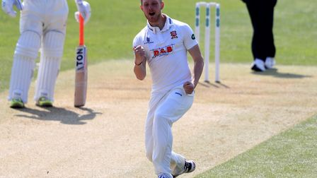 Essex's Jamie Porter took nine wickets in their season-opening win over Lancashire. Picture: PA SPOR