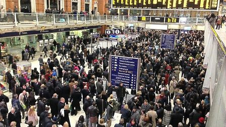 Commuters are facing delays after two separate faults on the line (stock image). Picture: CONTRIBUTE