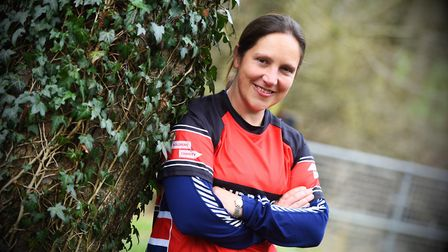 Former army oficer Lizzie Rosewell is running 15 marathons in 15 days (finishing with the London Mar