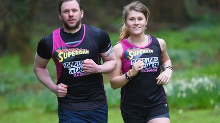 Dan Turner will run the London Marathon in memory of his late fiancee Michelle Dring, who died of a
