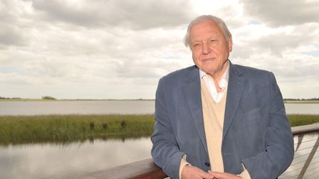 Sir David Attenborough , who has supported Suffolk Wildlife Trust's ambition to create a vast new na