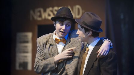 Over 60 pupils took part in the production. Picture: FINBOROUGH SCHOOL