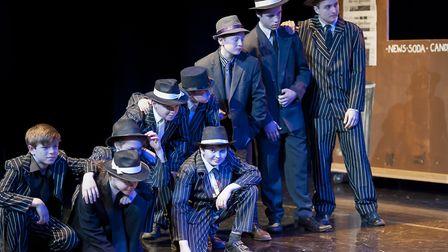 The production ran from Wednesday, March 14 to Friday, March 16. Picture: FINBOROUGH SCHOOL