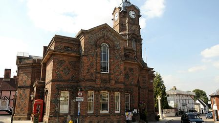Eye Town Hall. Picture: ALEX FAIRFULL