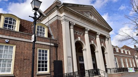Tendring District Council at Clacton Town Hall. Picture: SARAH LUCY BROWN