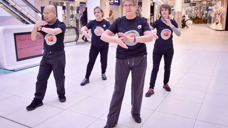 Mysterious East - Tai Chi will feature at Sailmakers Asian Spring event this weekend with a display