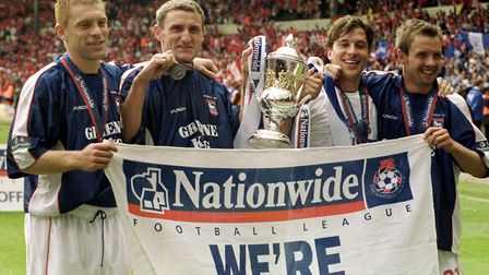 Mowbray, along with Richard Naylor, Marcus Stewart and Martijn Reuser, scored the goals which fired