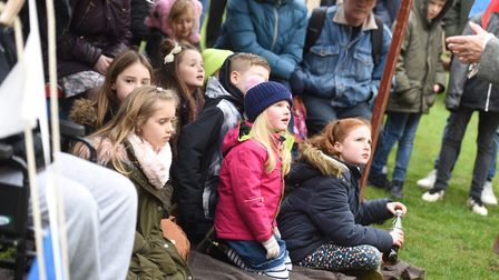 The event drew in a big crowd at Framlingham Castle. Picture: GREGG BROWN
