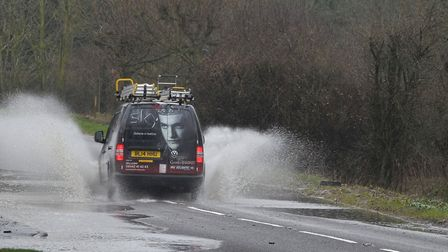 Heavy rain and flooding is forecast overnight and tomorrow in Suffolk. Picture: SARAH LUCY BROWN