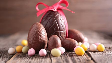 Easter eggs. Picture: GETTYIMAGES/ISTOCKPHOTO