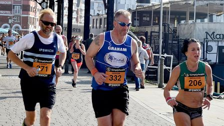 The first Simplyhealth Great East Run in Ipswich raised �1million for charity. Picture: ANDY ABBOTT