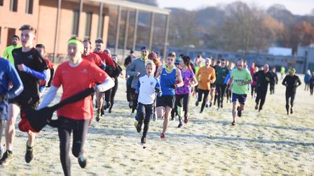 Regular parkrun events have helped people remain active. Picture: GREGG BROWN