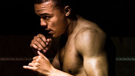 Fabio Wardley will headline the first pro boxing show in Ipswich in almost 20 years. Picture: STEVE