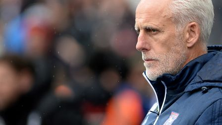 Mick McCarthy has his game-face on at St. Andrews for the match against Birmingham City Picture Page