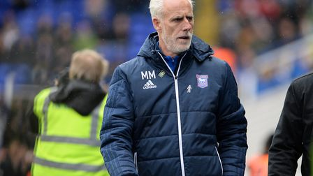 Ipswich manager Mick McCarthy at St. Andrews Picture Pagepix