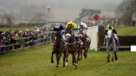 Point to Point horseracing at Horseheath.