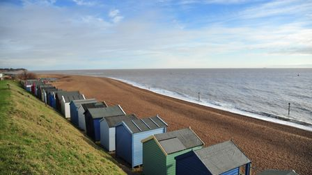 Felixstowe beach is among Suffolk's coastal communities to feature highly in the survey. Picture: