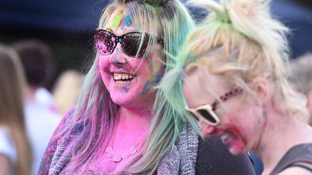 Holi Festival of Colour will be in Holywells Park in Ipswich on Sunday, April 8. Picture: SARAH LU