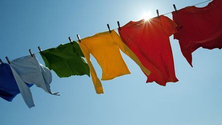 Laundry is one of the tasks which might get put to one side on National No Housework Day. Picture: