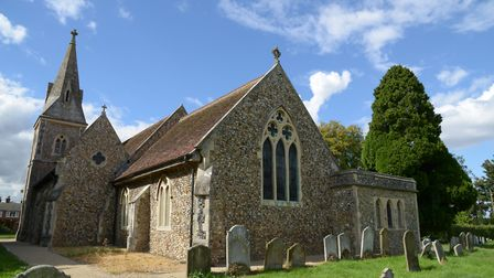 St Mary and St Botolph church, in Whitton. Picture: JANICE POULSON