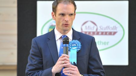 Dr Dan Poulter has called an adjournment debate on Suffolk's mental health crisis. Picture: SARAH LU