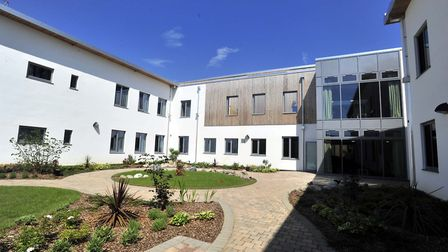 The Woodlands mental health unit in Ipswich, where the closing Lark Ward is based. Picture: LUCY TAY