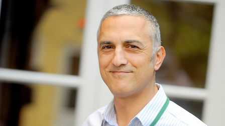 Healthwatch Suffolk chief executive Andy Yacoub. Picture: GREGG BROWN