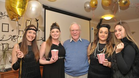 Handford House care home has a new cinema room for their residents that has been funded by Peter De