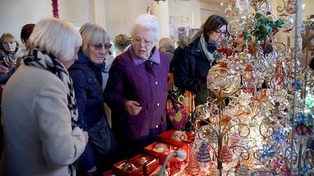 The Bury St Edmunds Christmas Fayre has been running since 2004. Picture: SUZANNE ABBOTT