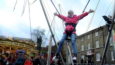 The review into the Bury St Edmunds Christmas Fayre will assess what activities are on offer. Pictu