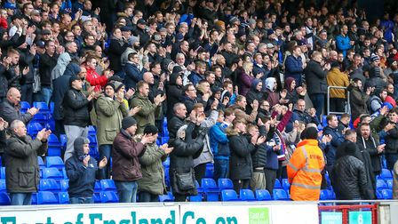 Attendances at Portman Road have been sliding in recent years. Picture: STEVE WALLER