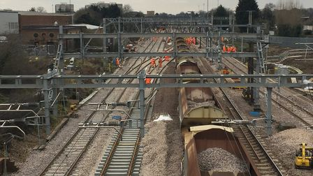 Network Rail engineers will be working again over the bank holiday weekends in May. Picture: NETWORK