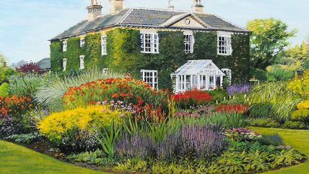Bressingham Hall by artist Shirley Hayes. Artists are being invited to create their own artworks ins