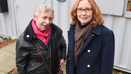 Caroline Page and Caroline Rutherford were part of the consultation group for Jetty Lane. Picture: G