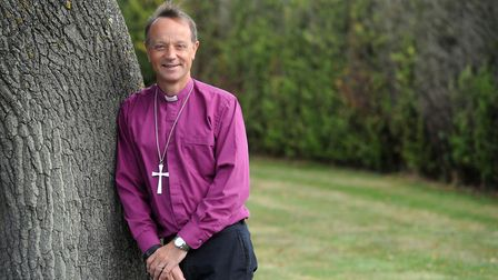 The Rt Revd Mike Harrison, Bishop of Dunwich. Picture: PHIL MORLEY