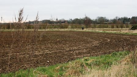 Part of the site earmarked for the new Chilton Woods development near Sudbury. Picture: EMMA BRENNAN